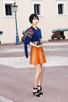The Best Dressed From Louis Vuitton's Front Row-Bae Doona