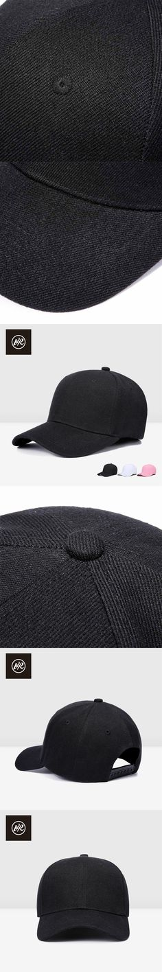 VIS ROCK Unisex Snapback Baseball Cap Dad Hats Woman Cap Man Baseball Hat Snapbacks Solid Casual Golf Polo Adjustable Sports Cap