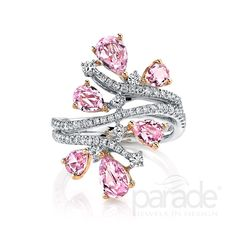 BD3579A from the Parade in Color Collection (with pink sapphires & diamonds!)