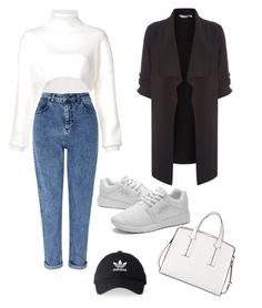"""""""simple day"""" by gwgw-marra on Polyvore featuring Miss Selfridge, Dorothy Perkins, Alexandre Vauthier, French Connection and adidas"""