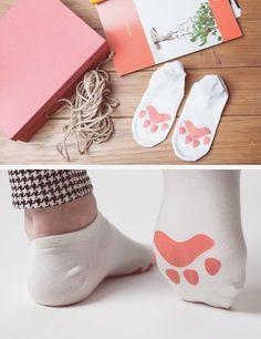 Hermosas calcetas que merecen que andes descalza por toda la casa