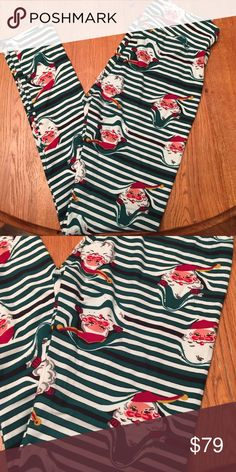 LuLaRoe OS 2016 HOLIDAY leggings  brand new! Never tried on or worn. OS one size 2016 holiday Christmas leggings. Limited edition. Hard to find. Made in Vietnam. LuLaRoe Pants Leggings