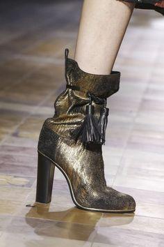 Boho Boots - Lanvin Ready To Wear Fall Winter 2015 Paris