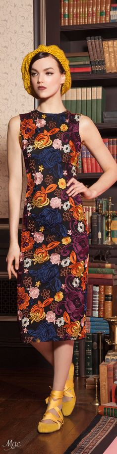 Pre-Fall 2016 Alice + Olivia women fashion outfit clothing style apparel @roressclothes closet ideas