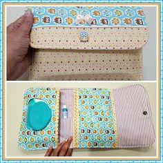 Tutorial, DIY, Passo à Passo Porta Kit Higiene do Bebê 2. http://www.vivartesanato.com.br/2016/10/tutorial-diy-passo-a-passo-porta-kit-higiene-do-bebe-2.html