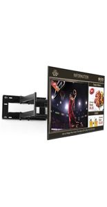 "65"" 1080p SuperSign TV w/ Media Player, Content Software & Articulating Arm - Black"