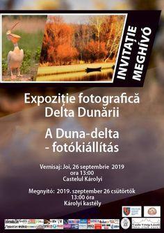"""Vernisajul expoziției de fotografie """"Delta Dunării"""""""
