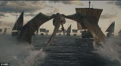 Winging it:The fantasy series, set in mythical medieval lands, is based on George R.R. Ma...
