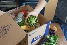 Recently I was visiting my friends in the city and everyone was talking about Blue Apron – the new meal service that sends you pre-planned meals in a box. They were raving about the dinners, telling me how good the food tasted and how much fun they were having cooking. Everyone agreed that it was mu...