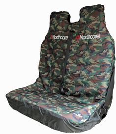 The Northcore Camo double van seat cover- water resistant, tough and very cool. Available online or ask at your local #surf store.