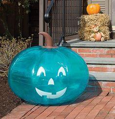 So Much Easier than Painting a Teal Pumpkin!