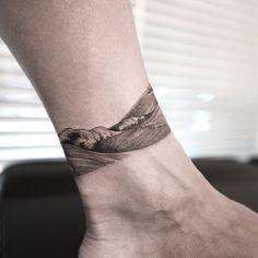 Hongdam Tattoo, Hand Tattoos, Surf Tattoo, Ocean Tattoos, Piercing Tattoo, Back Tattoo, Body Art Tattoos, Sleeve Tattoos, Tatoos
