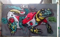 Google Street Art @GoogleStreetArt 12.3.14 via Twitter - Street Art fuses with technology & nature Farid Rueda x Diser Errante titled Evolución #Mexico  #art #streetart pic.twitter.com/btFXkhVHXY