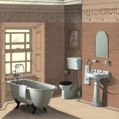 edwardian bathroom | burlington edwardian traditional 00025106L Voucher Code Alert 25% off ...