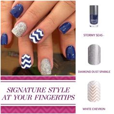 Jamberry can make that adorable Pinterest mani happen! Give it a try and order today! Taylorwalden.jamberrynails.net