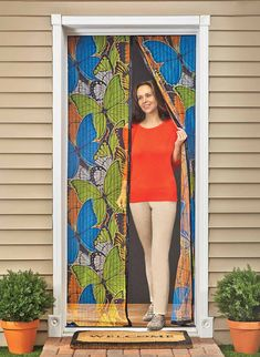 Superior Keep Pesky Insects Out With This Handy Butterfly Mesh Screen Door. It Opens  And Closes