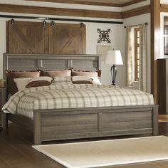 Trent Austin Design Iron Mountain Panel Bed & Reviews   Wayfair.ca