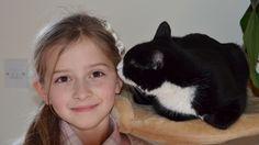RSPCA rescue cat helps makes sure diabetic owner is feline fine