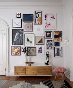 """""""Your walls. We've got 'em covered. Get started on your gallery wall with the link in profile! #westelm #PicturePerfect"""""""