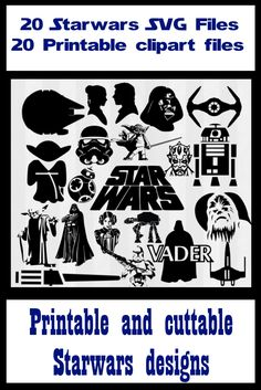 Star wars svg files for silhouette cameo. star wars svg files for cricut explore. Star wars clipart for papercutting or papercraft. Cuttable files are vector designs. Yoda svg.