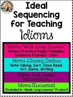 sequence of teaching