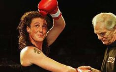 Jane Couch, became the first officially licensed British female boxer in 1998 Female Boxers, Boxing, British, Couch, Tattoo, Sofa, Sofas, Tattoos, Settee