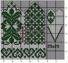 View album on Yandex. Knitted Mittens Pattern, Fair Isle Knitting Patterns, Crochet Mittens, Fingerless Mittens, Knitting Charts, Knitted Gloves, Knitting Stitches, Knitting Socks, Crochet Chart