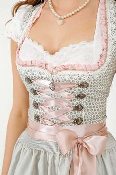 Dirndl Lenia Skirt length: 50 cm The zipper is on the front side. - Blouse and accessories not included -