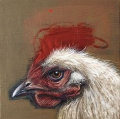 Arthur, Portrait of a Chicken