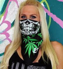 Zombie Skull Crossbones Bandana Headwear Bandanna Scarf Wrist Wrap Headtie B4