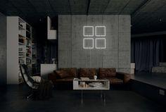 Window ist Bestandteil einer Lichtserie, die mit den Zeichen des Alltags spielt. Sie entstand in der architektonischen Auseinandersetzung mit den Geometrien der urbanen Routine und besticht durch ihre reduzierte Form und ihre starken Aussagen, und liegt inmitten den Einflüssen des Bauhaus und geordneten Strukturen der skandinavischen Licht & Design Welt.