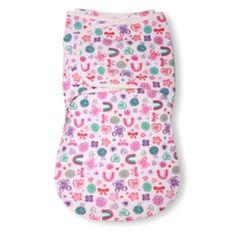 Summer Infant SwaddleMe Wrap Sack - Flower Power