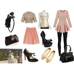 Marie Antionette, created by nicseb23 on Polyvore