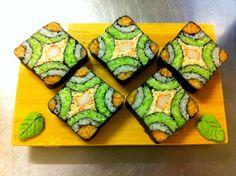 REBLOGGED - Beautiful Sushi!