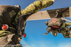 """Today, January was the first real """"volunteer"""" for our tandem master and cameramen, here are a couple of pictures! View all sizes View slideshow View Exif info . Tandem, Forces Armées, Canadian Army, Quelques Photos, January 27, Military, Couple, Pictures, Photographers"""