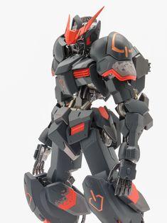 GUNDAM GUY: 1/100 Gundam Barbatos - Painted Build