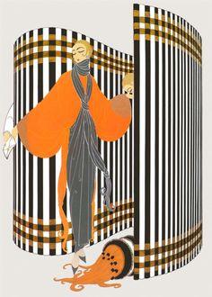 Coquette-Erte - by style - Art Deco