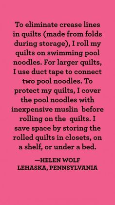 What a great idea! Quilting Tips, Quilting Tutorials, Quilting Projects, Sewing Projects, Sewing Tools, Sewing Hacks, Sewing Ideas, American Patchwork And Quilting, King Size Quilt