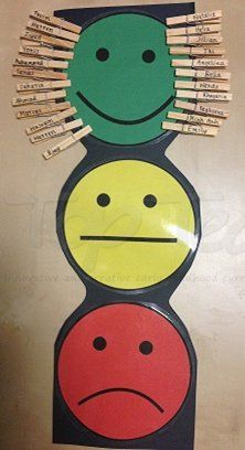 Traffic light behaviour management chart | Top Teacher - Innovative and creative early childhood curriculum resources for your classroom