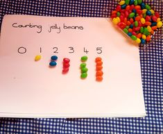 5 ways to teach your child using jellybeans - Mamma & Bear Pre Writing, Writing Skills, Phonetic Sounds, Counting Activities, Letter J, Color Shapes, Jelly Beans, 5 Ways, Your Child