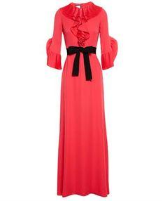 GUCCI - Silk Satin Georgette Gown