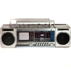 Vintage Boom Box with Television $100                                                                                                                                      too bad mine got all full of sand and the casset door broke off.