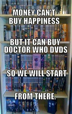 Holy mother of the Whoniverse. That is a lot of Doctor Who... I want it. Gimme.