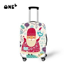 Cheap Travel Accessories, Buy Quality Luggage & Bags Directly from China Christmas Design Printed Luggage Covers Elastic Travel Suitcase Trolley Dustproof Protector Cover Apply to 22 Luggage Cover, Travel Luggage, Luggage Bags, Travel Bags, University High School, Christmas Design, Cool Patterns, Travel Accessories, Suitcase