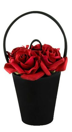 Lulu Guinness's iconic Rose bags - not even sure if she still makes them.
