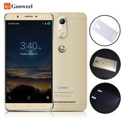 Gooweel m3 3 그램 스마트 폰 6.0 인치 ips 화면 mtk6580 쿼드 코어 휴대 전화 1 기가바이트 Ram 8 기가바이트 Rom 8MP 카메라 GPS 휴대 전화 무료 케이스