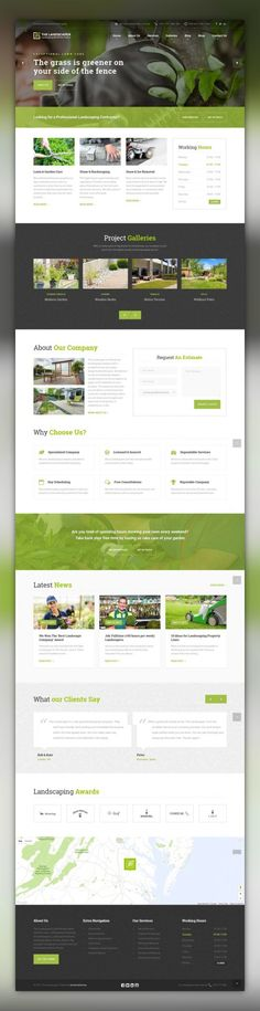 The Landscaper - Lawn & Landscaping WP Theme agriculture, building company, essential grid, florist, gardener, gardening, grass, groundskeeper, industry, irrigation, landscape, landscape architects, landscaper, landscaping, lawn services The Landscaper is a premium landscaping WordPress theme built for Landscaping Companies, Lawn Services Business, Groundskeepers, Landscape Architects, Gardeners, Florists, Agriculture and companies that offer rel...