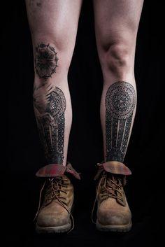 Image result for bani j leg tattoos
