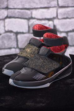 Nike men s air jordan 20 xx retro black stealth red sz 13 100% authentic 9746624e90