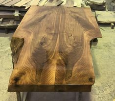 Walnut Table, Home, Ad Home, Homes, Haus, Houses